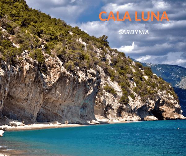 rejony wspinaczkowe Sardynia - Cala Luna