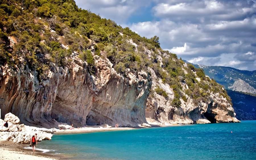Cala Luna - rejony wspinaczkowe Sardynii