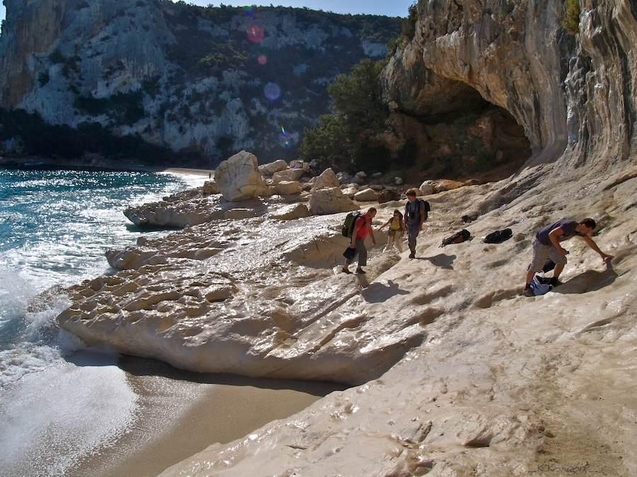 Cala Luna - wspinanie na Sardynii