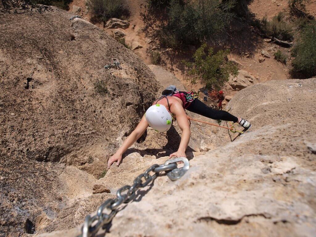 Montesa - wspinaczka w Hiszpanii