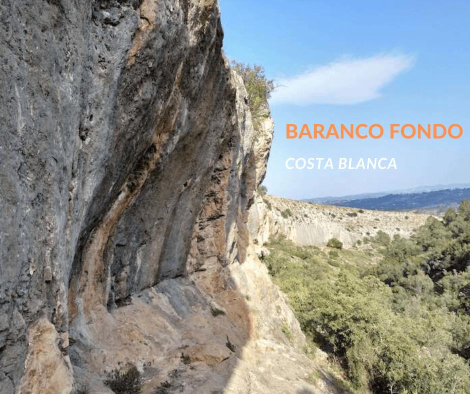 Baranco fondo, rejony wspinaczkowe Costa Blanca