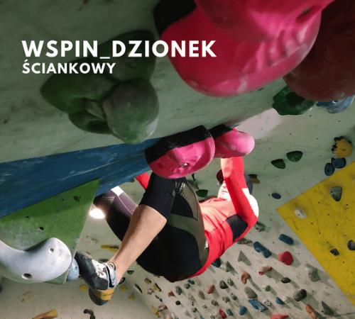 trening wspinaczkowy na ściance wspinaczkowej
