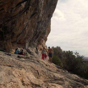 rejony wspinaczkowe Costa Blanca - wspinaczka rodzinna