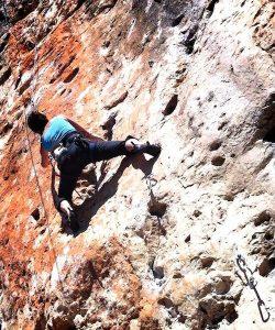 wspinaczka skałkowa