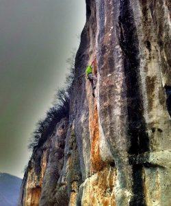 Lumignano, Włochy, wspinaczka w skałach