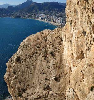 wspinaczka nad morzem - Calpe, Costa Blanca