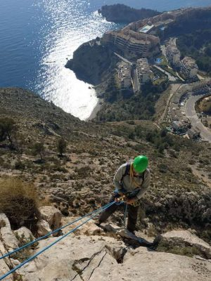 wspinanie wielowyciągowe na Costa Blanca