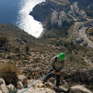 rejony wspinaczkowe Costa Blanca - wielowyciągowo