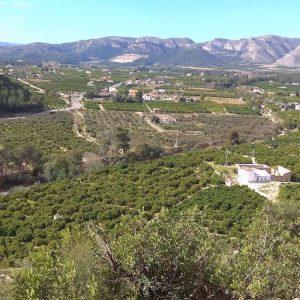 rejony wspinaczkowe Costa Blanca - przestrzeń