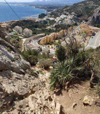 Sierra de Toix - wspinanie w Hiszpanii