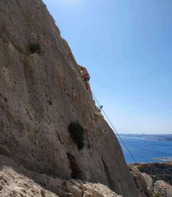 Sierra de Toix - wspinaczka dla początkujących, Costa Blanca