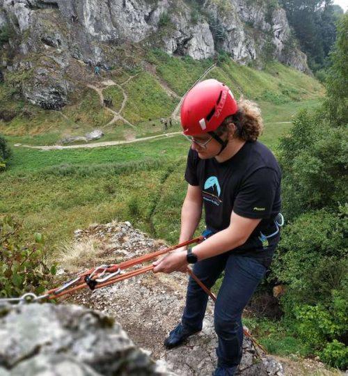 Dolina Kobylańska - szkolenie wspinaczkowe