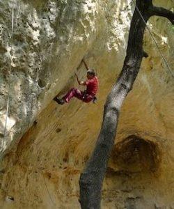 Correns, Francja, wspinaczka skałkowa