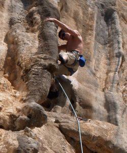 El Chorro, Hiszpania, wspinaczka w skałach