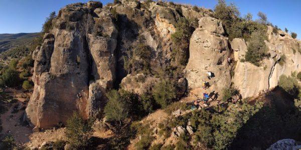 MOntesa - rejony wspinaczkowe Costa Blanca
